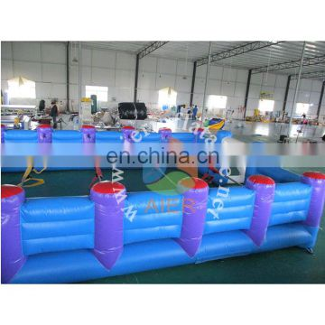 inflatable arena, inflatable soap football field, inflatable football court