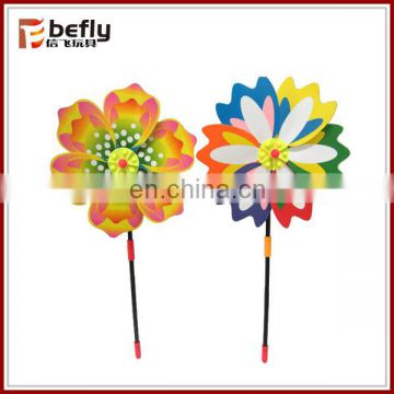 Colorful plastic windmill toys