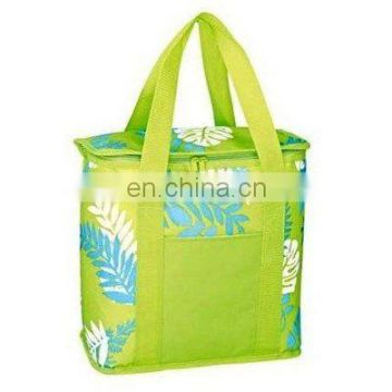 popular two handles picnic cooler bag with low price