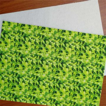 Cavort Printed Twin-needle  RPET Stitch Bond Non Woven Insole Board For Shoe Interlining Making