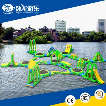 Hot sale giant inflatable floating water park/inflatable floating water park