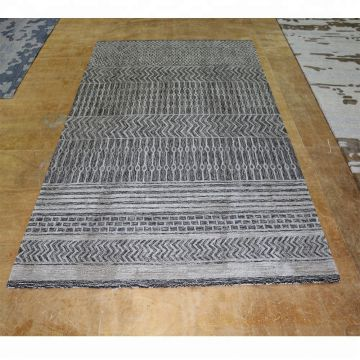 Gray Color With Beautiful Cut Pile Persian Carpet Area Rugs For Living Room