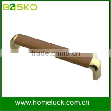 High quality decorative main wood door handle from shenzhen factory