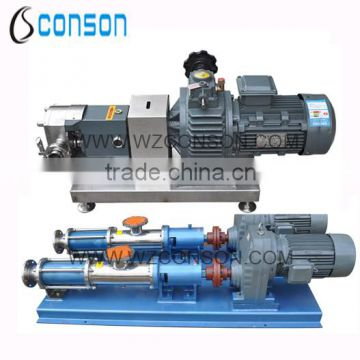 Food grade stainless steel high viscosity pump                                                                         Quality Choice