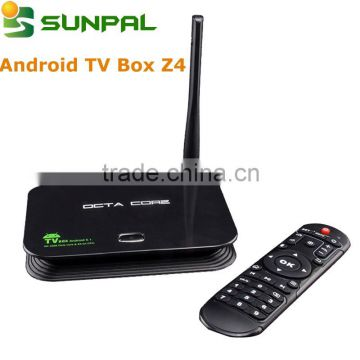 Android 5 1 Z4 rk3368 octa core root access Android Smart box DDRIII