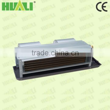Low noise hot water Ceiling ducted electric fan coil unit