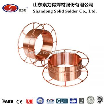 copper coated welding wire SG2 ER70S-6,1.2mm,15kg/spool,mig welding ...