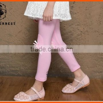 Hot sale girls cotton flimsy leggings