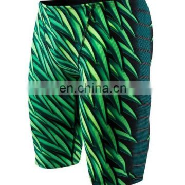 2017 factory OEM sublimation printing lycra swimwear/swim shorts