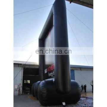 inflatable promotional screen/inflatable advertising banner/event frame/display film screen