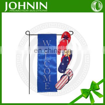 custom design printed decorative flag