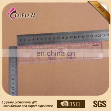 high quality plastic straight ruler with protractor