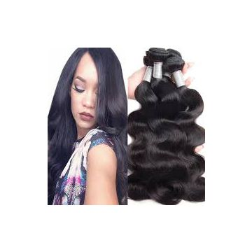 Large Stock Indian Peruvian Human Hair Loose Weave 16 18 20 Inch No Chemical