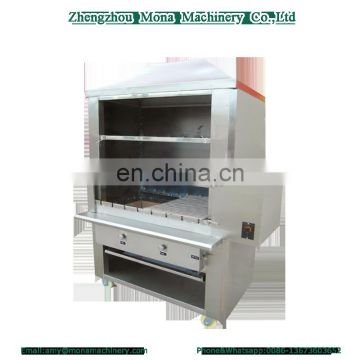 China manufacture Brazil barbecue furnace meat roaster machine with CE proved