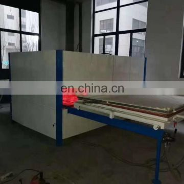 PVC film laminating machine on the door MDF panel vacuum membrane press machine 061