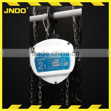 2 ton manual chain pulley block