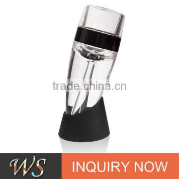 WS-AP04 amazon ABS base red wine pouring aerator