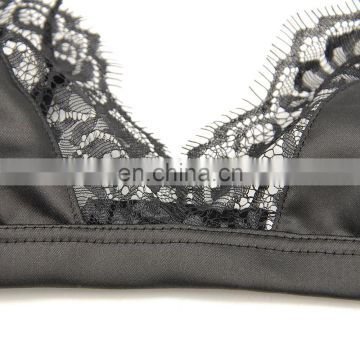 Lingerie Sexy Hot Desi Girls In Bra Crochet Lace High-neck Bralette Bralette Lingerie Sexy