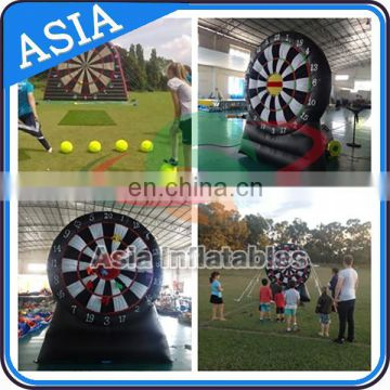 Foot Darts Board Sports for Adults Used PVC Inflatable Dart Board Soccer Game
