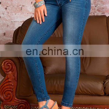 5a7950ac0d ... OEM OED high wasit usa sexy ladies butt lift blue jeans pants sexy  ladies leggings trousers