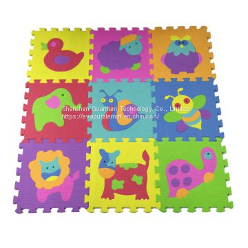 QT MAT Eco-friendly Baby Play EVA Mat High Quality Interlocking Flooring