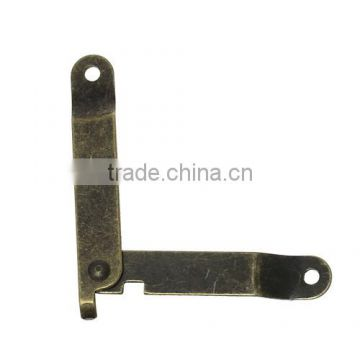 Antique Bronze Door Butt Hinges (rotated from 0 degrees to 180 degrees) 68mmx11mm