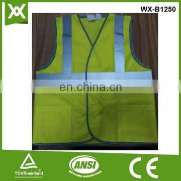 polyester class2 tape high visibility warning selling order buy reflective child vest