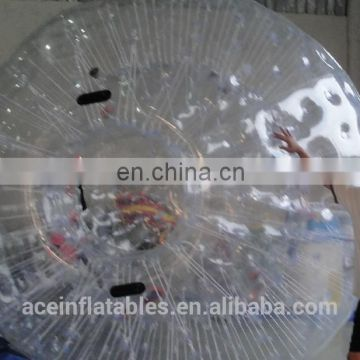 Hot sale PVC bubble ball, 2m Diameter human bubble ball, water zorbing for adults