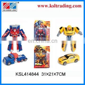 2014 new product transformation robot for kid