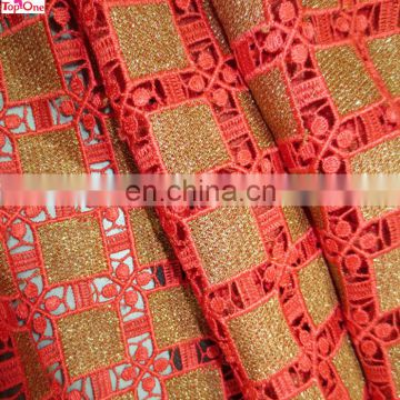 Wholesale guipure lace for wedding\African lady dress lace fabric\Chemical lace