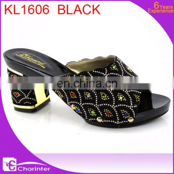 african slipper ladies high heel shoes latest shoes slipper