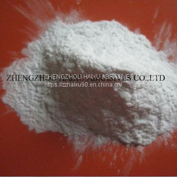 white alumina oxide grains