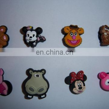 animals shape fashion rubber shoe charm