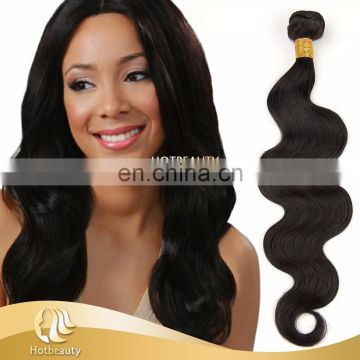 100% brazilian virgin hair natural color hairstyles with body twist hair