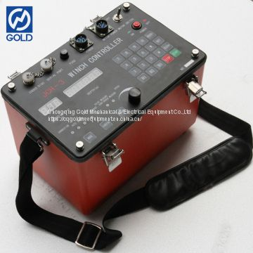 Well Digital Logging Survey System Borehole Testing Winch Controller