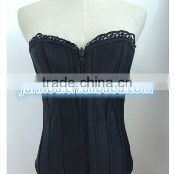 Wholesale stock overbust underbust basque corset S-3XL