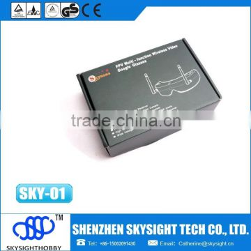 skyzone 5.8G 32CH Diversity AIO FPV video Goggles for 5.8g fpv 4ch rc airplane rtf with gps module