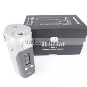 Wholesale price!!! Hottest e cigarette Wismec Reuleaux DNA200/dna 200w temp comtrol Wismec Reuleaux DNA200 VS RX200