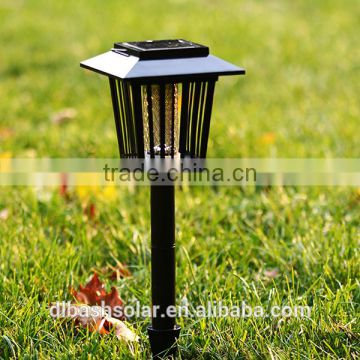 cheap solar garden light electric High efficiency LED rechargeable mosquito killer lamp