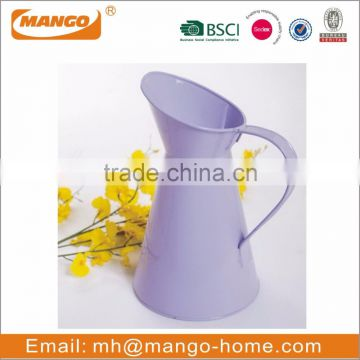 Colorful Decoration Metal Flower Vase