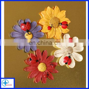 resin sunflower refrigerator magnets