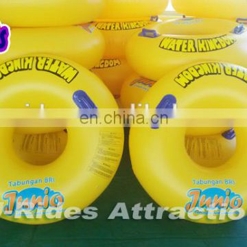 Single swimming tude inflatable water tube for Water park slide use