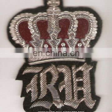 Fashion Zari Badges, Hand Embroidery Badges