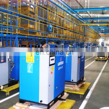 Hot selling mobile 110kw electric screw air compressor with top quality