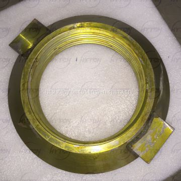 Apply to Metso Nordberg GP100S Single Cylinder Cone Crusher Spare Parts Locking Nut