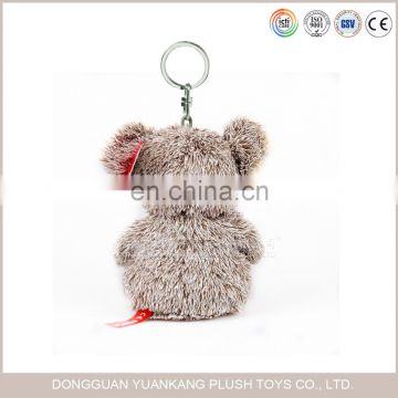 10cm custom mini stuffed animal soft plush koala bear keychains oem