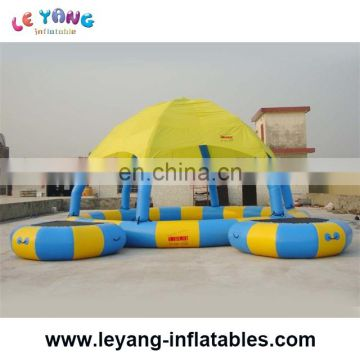 Inflatable Pool Dome / Fashion Good Quality Inflatable Pool Tent Cover