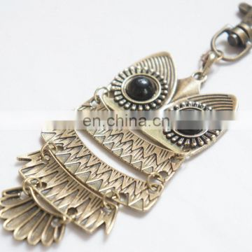 owl necklace or keychain new arrival