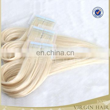 Wholesale Drouble drawn 2.5g/piece 40 pics 22 inch colored blonde tape hair extension