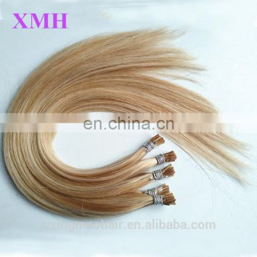 New Arrival wholesale price mixed color stick I Tip Prebonded Hair Extensions